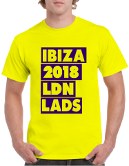 Lads Holiday T-Shirts