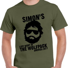 Lads Wolfpack Design